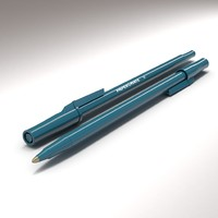 3d ballpoint papermate classic model