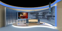 tv news stage