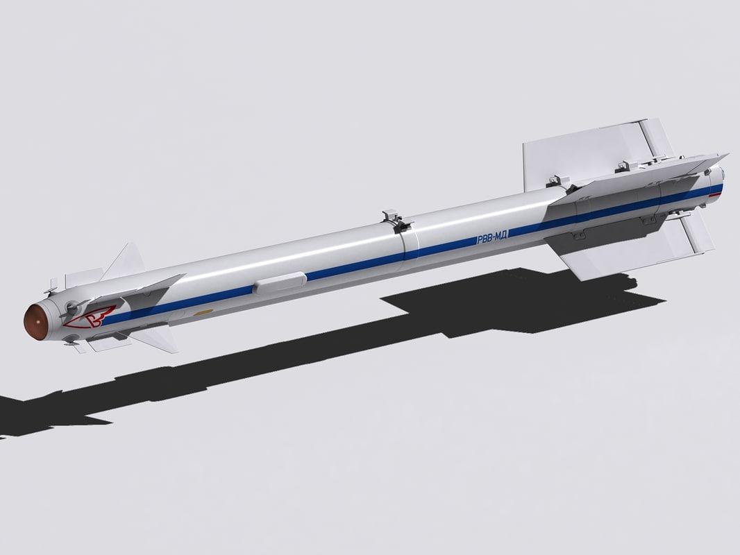 rvv-md missile 3d model