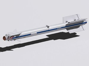 rvv-md missile 3d model