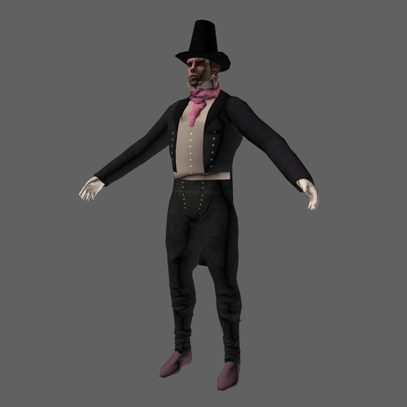 character steampunk obj