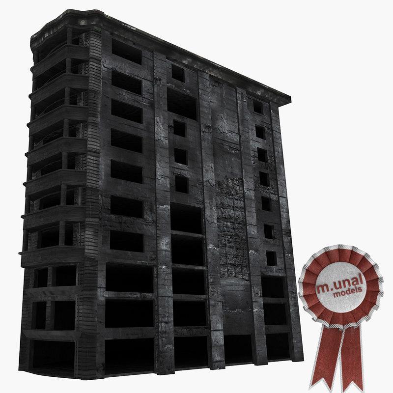 max damaged building