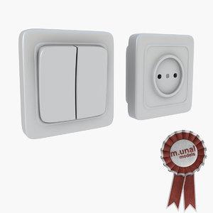 3d socket switch