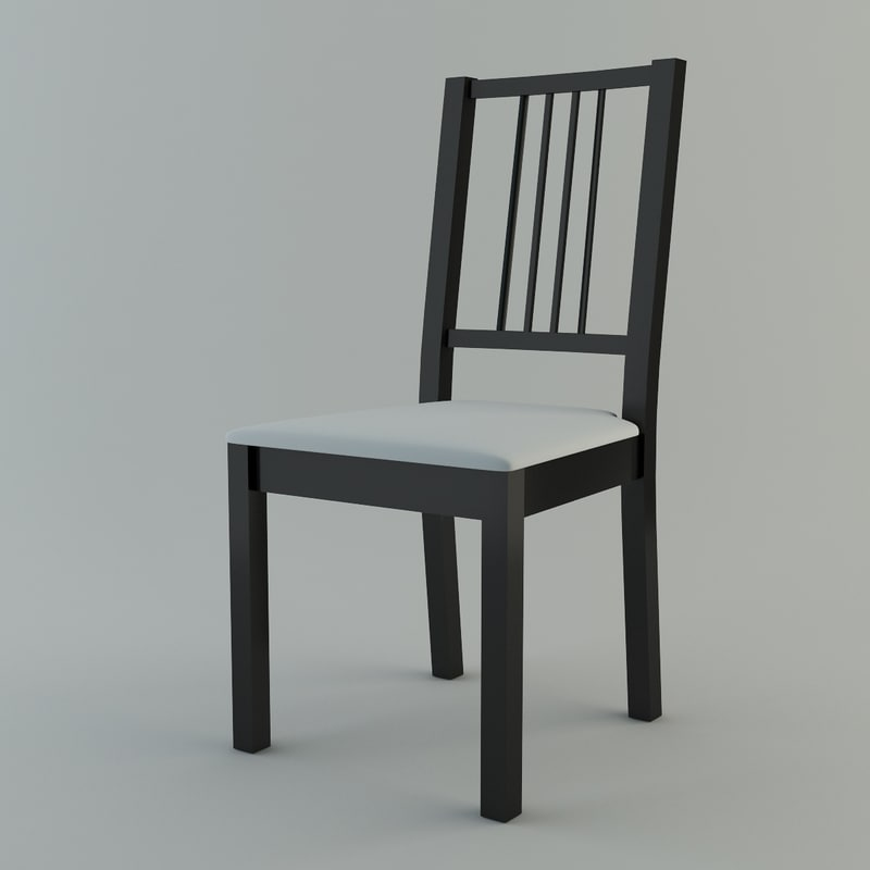 3ds simple dining chair