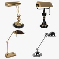 desk lamp 3d 3ds