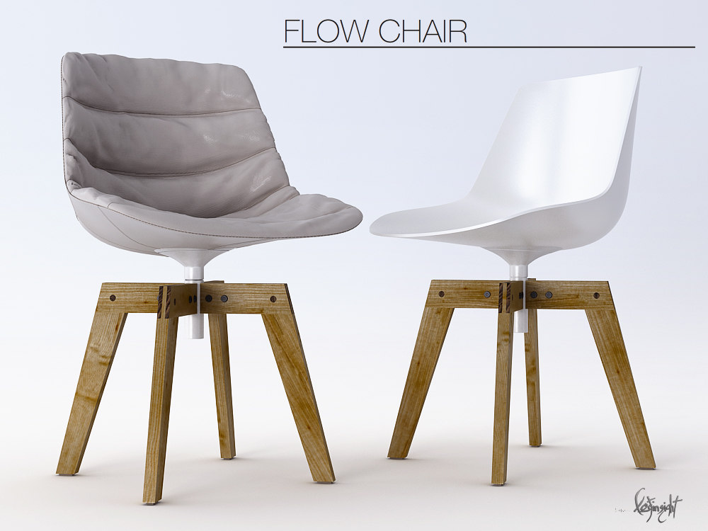3ds max chair flow