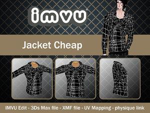 3d jacket imvu file model