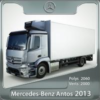 3d mercedes-benz antos 2013