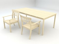 angso series outdoor table obj