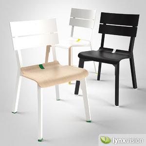 rotterdam chair 3d max