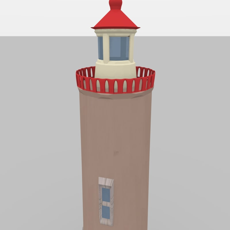 free 3ds mode tower lighthouse