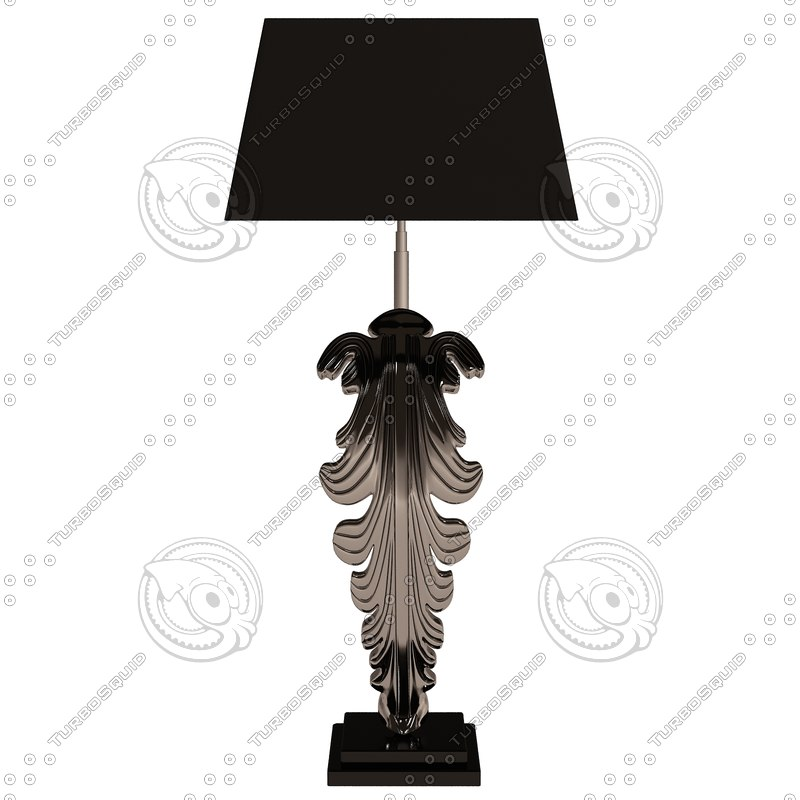 3d model eichholtz lamp beau site