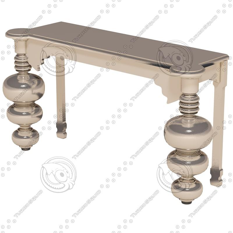 eichholtz table console trocadero 3ds