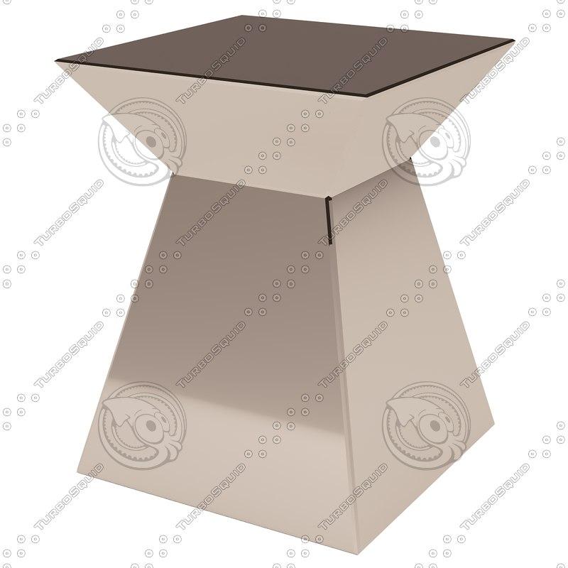 3d max eichholtz table pyramid