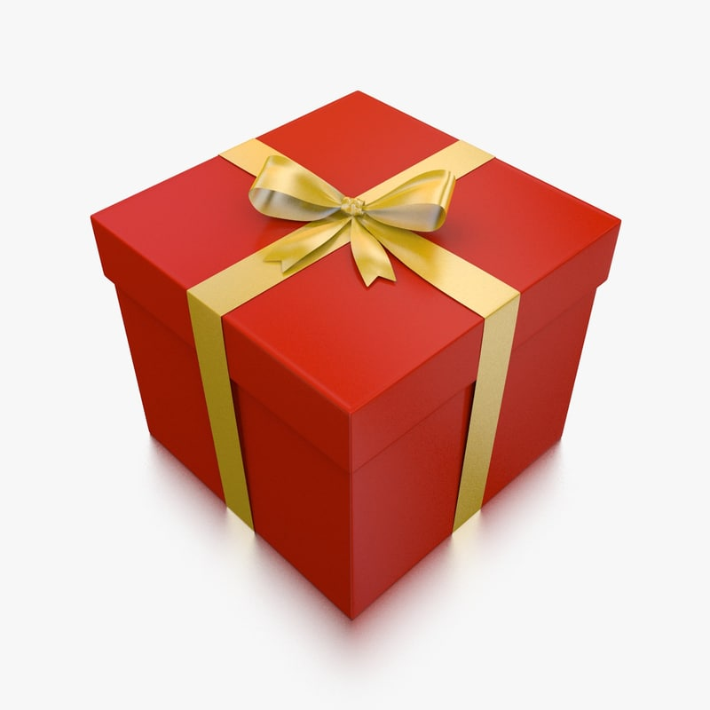 Gift box 3d gift box negle Image collections