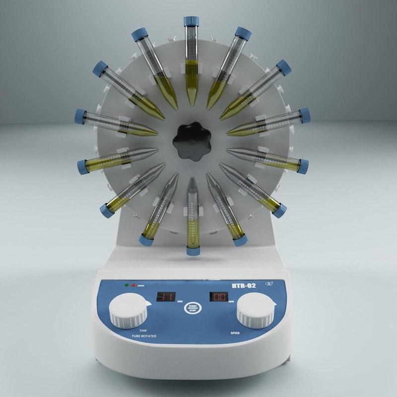 3d model lab equipment pharmacy