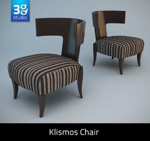 maya klismos chair