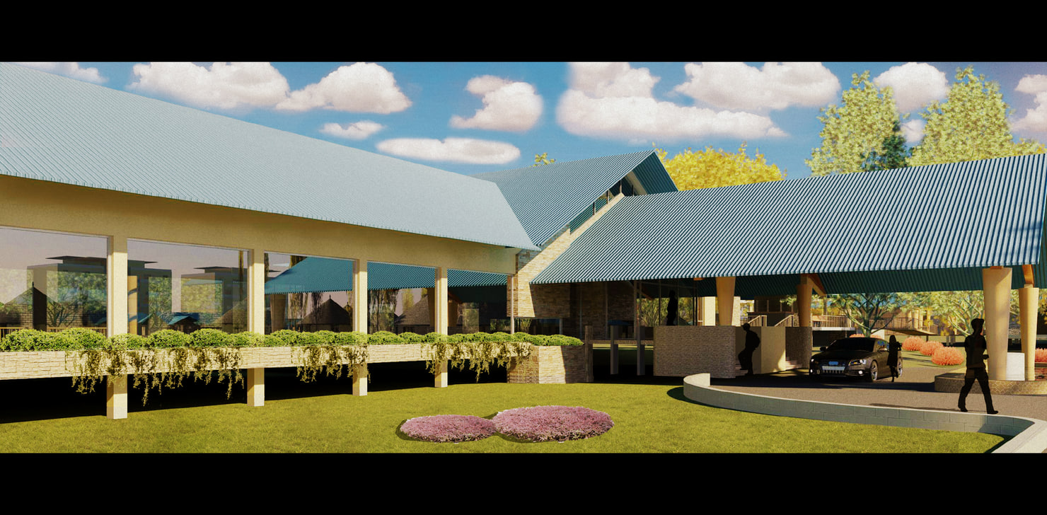 3d model restaurant architecture