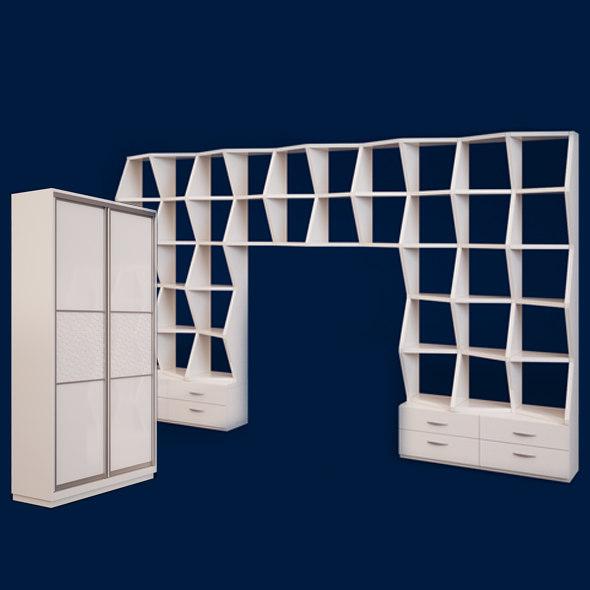 wardrobe design 3d max