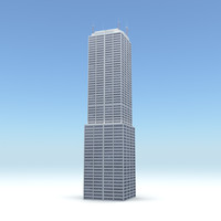 3d obj skyscraper 02 day night