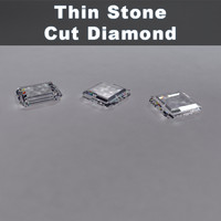 Thin Stone Cut Diamond