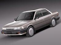 3d japan car classic sedan model