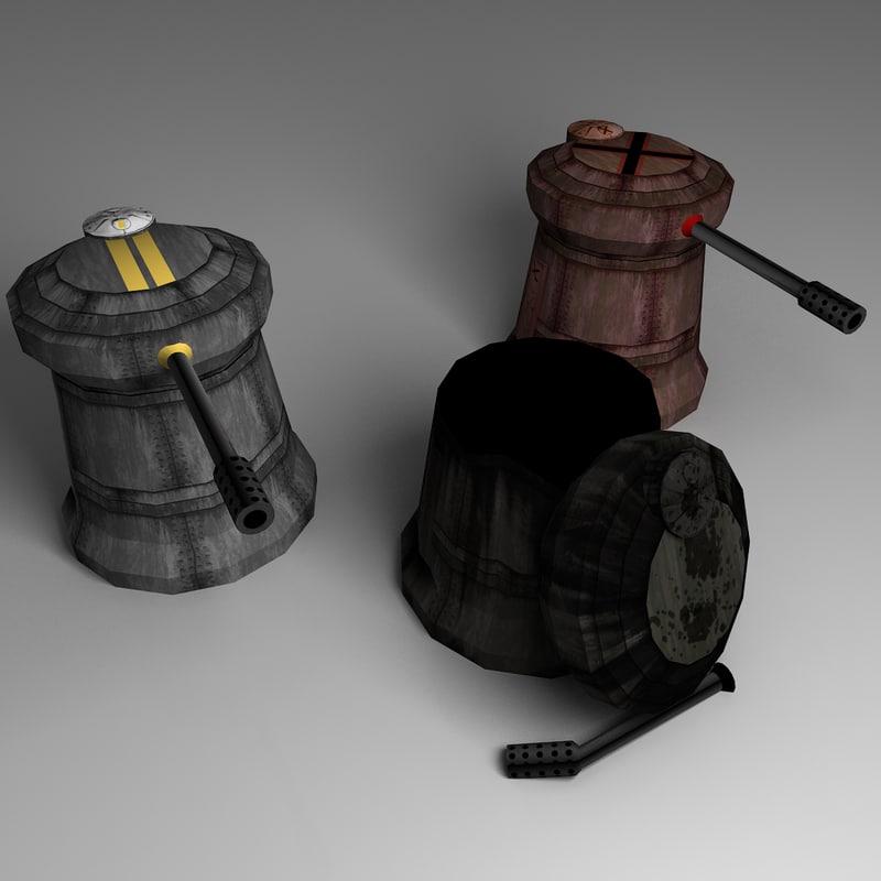 obj turret ready