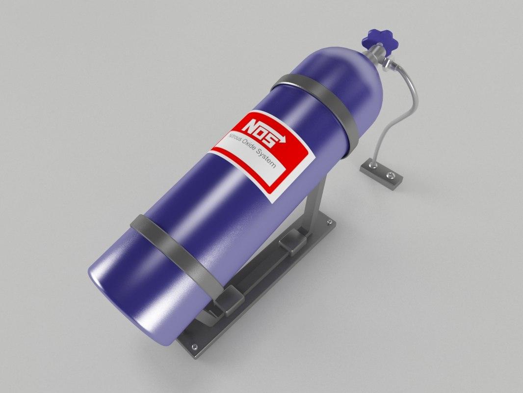 3d nitrous oxide nos model