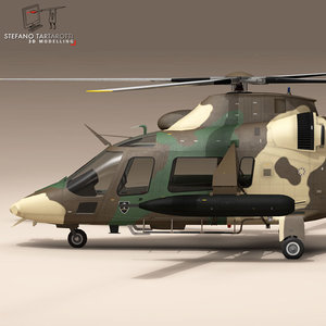 aw109luh south africa aw109 3d model