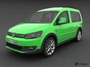 VW Cross Caddy 3D models