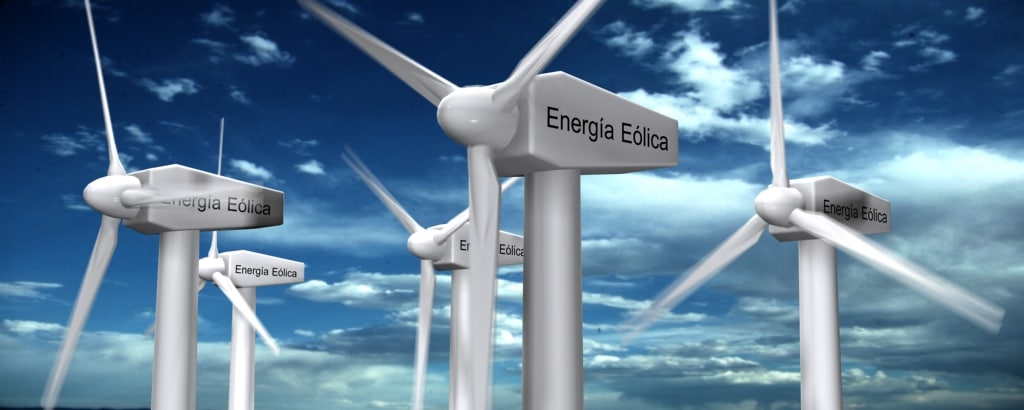 wind eolic turbine 3d max