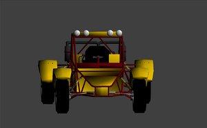 3d model buggy