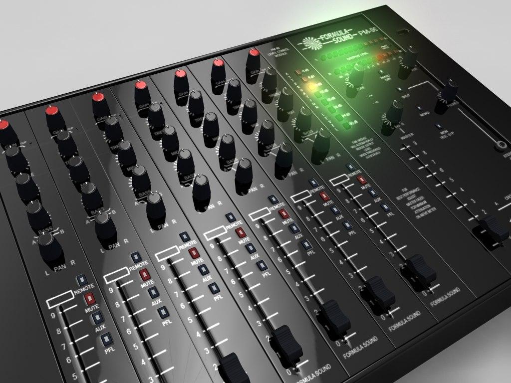 3d model of pm90 mixer