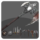 3d weapon pack shields