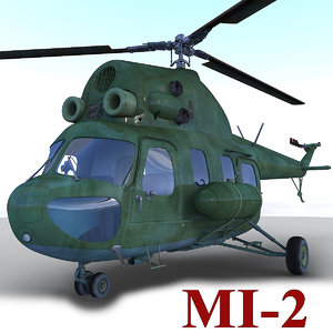 max mil mi-2 helicopter