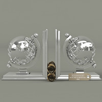 Eichholtz book and globe set of 2