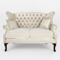 3d classic sofa queen anne