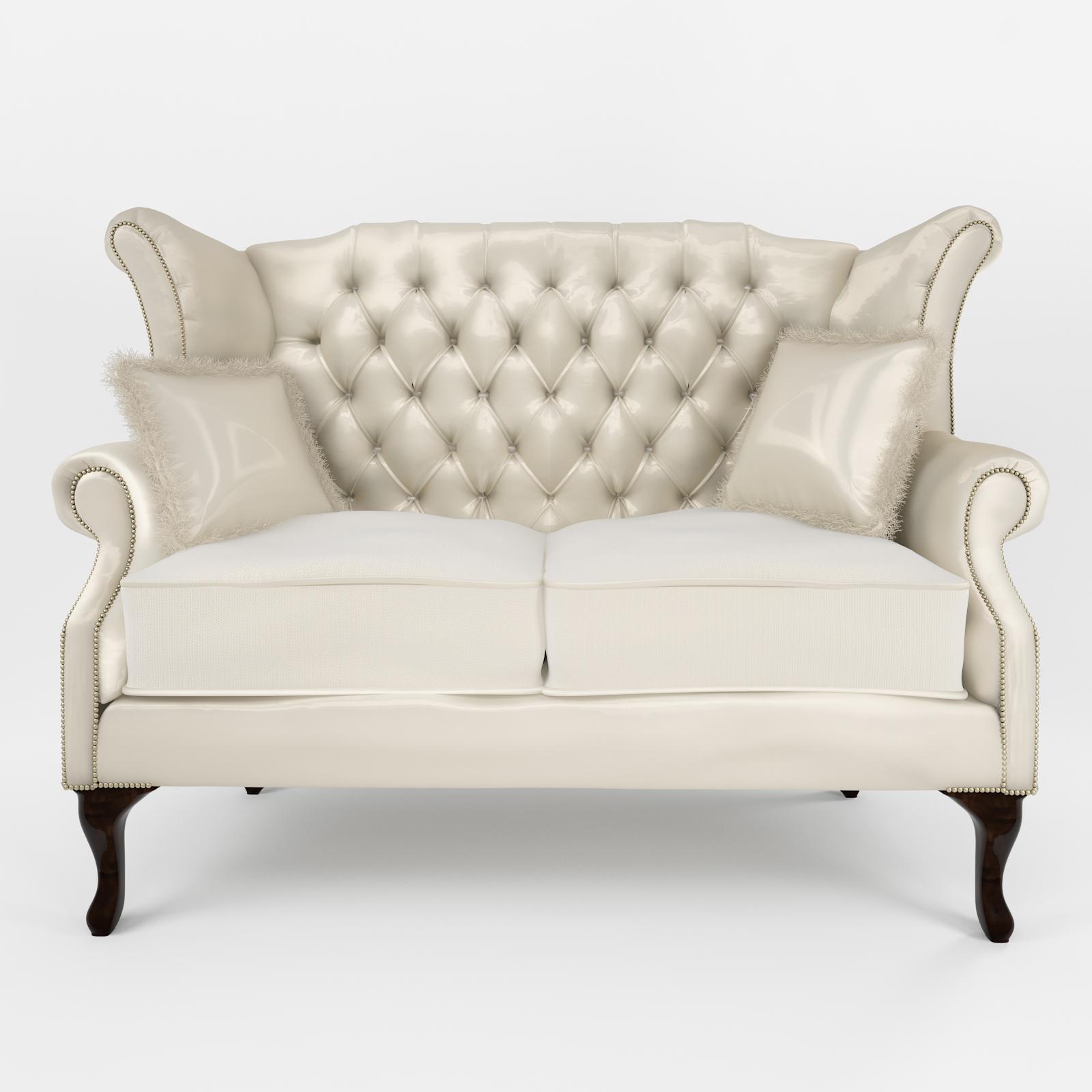 Classic Sofa Queen Anne