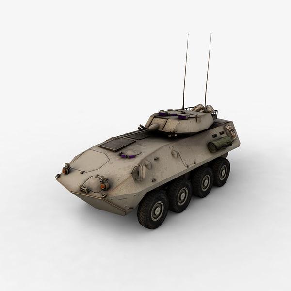 3d model lav-25 lav
