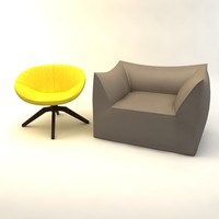 3ds max armchair chair