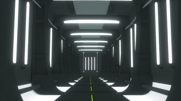3d model sci fi futuristic space