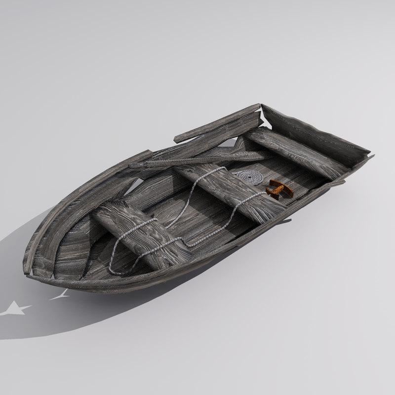 old row boat ma