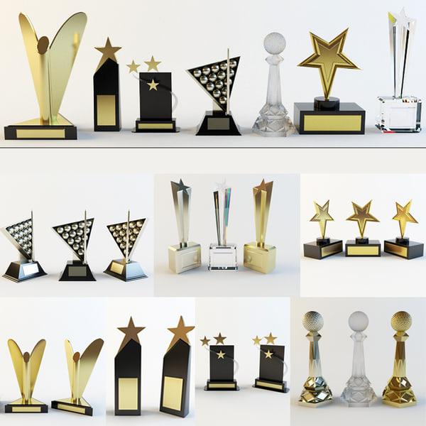 3d prize award