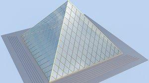 3d fbx small pyramid