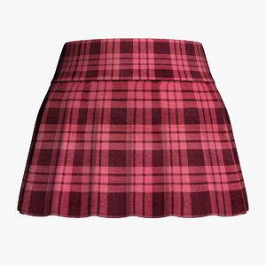 3d skirt model