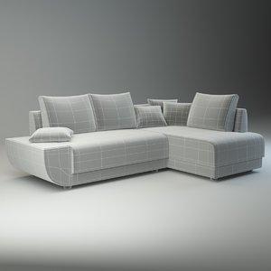 3d sofa martina model