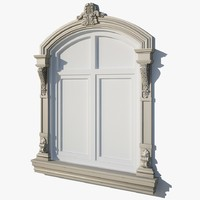 3d window frame