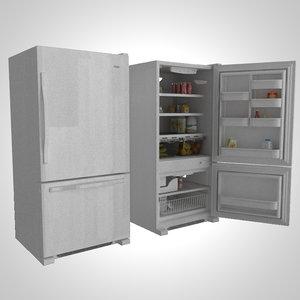 3d whirlpool eb9shkxvq refrigerator
