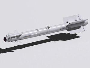 r-73 missiles 3d 3ds