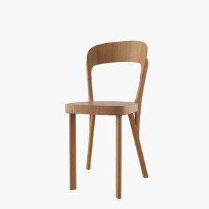 robert chair thonet 107 3d model